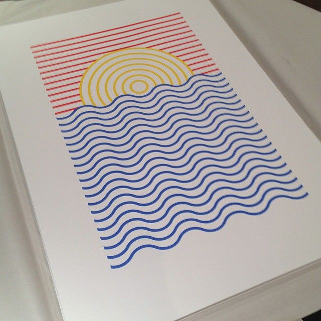 I have a few of these screen prints left, if anyone's interested hit me up. Thanks