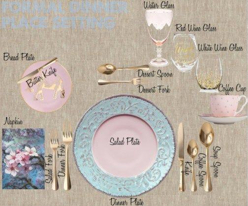art de la table 10 tapes pour dresser une table formelle - Dressage De Table A La Francaise