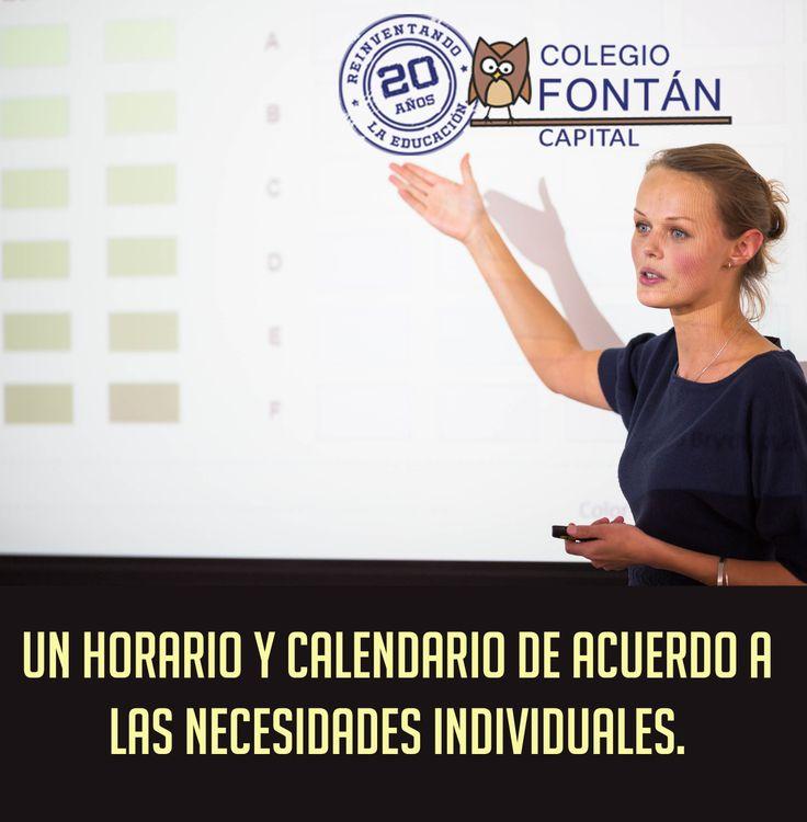 Aquí los estudiantes pueden comenzar en cualquier época del año y de igual manera terminar en cualquier época.