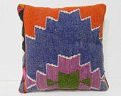 kilim pillow 18x18 red kilim cushion cover blue decorative pillow european kilim cushion tropical kilim pillow sham old bohemian decor 27044