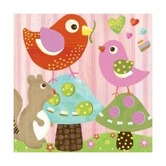 Oopsy daisy too love n nature bird buddies 10x10 for 10x10 kids room