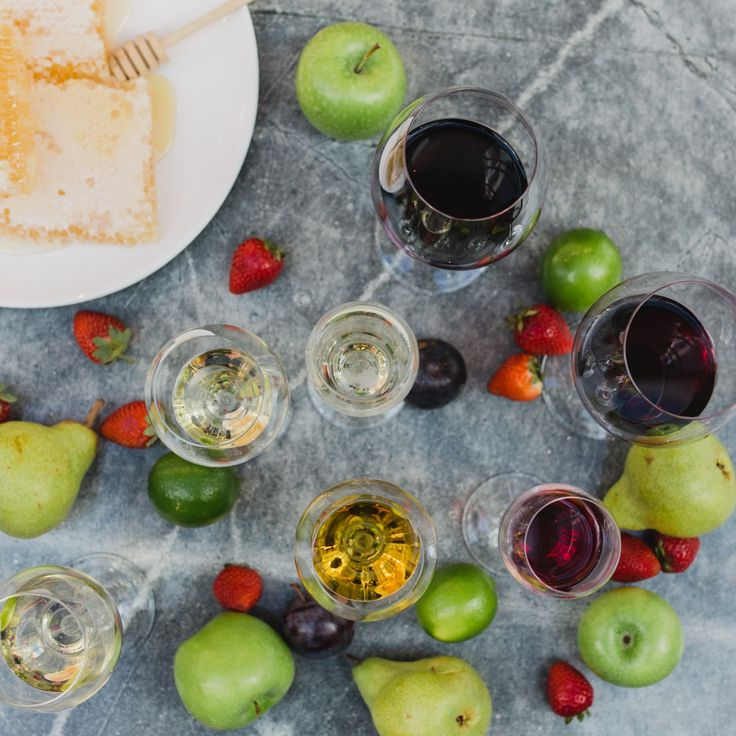 Keep it fruity, experiment with your wines!