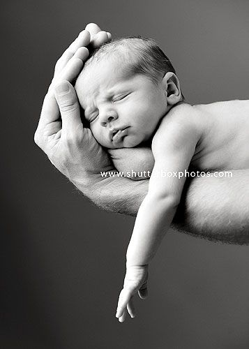 newborn in Daddy's arms! LOVE