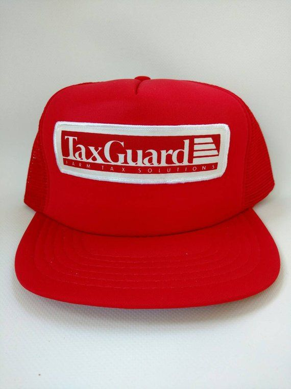 8423bbd480649 Tax Guard Farm Tax Solutions Trucker Hat in 2019