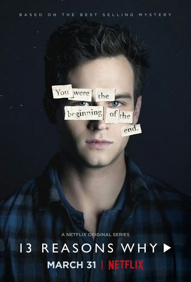 13 Reasons Why Netflix Poster Justin