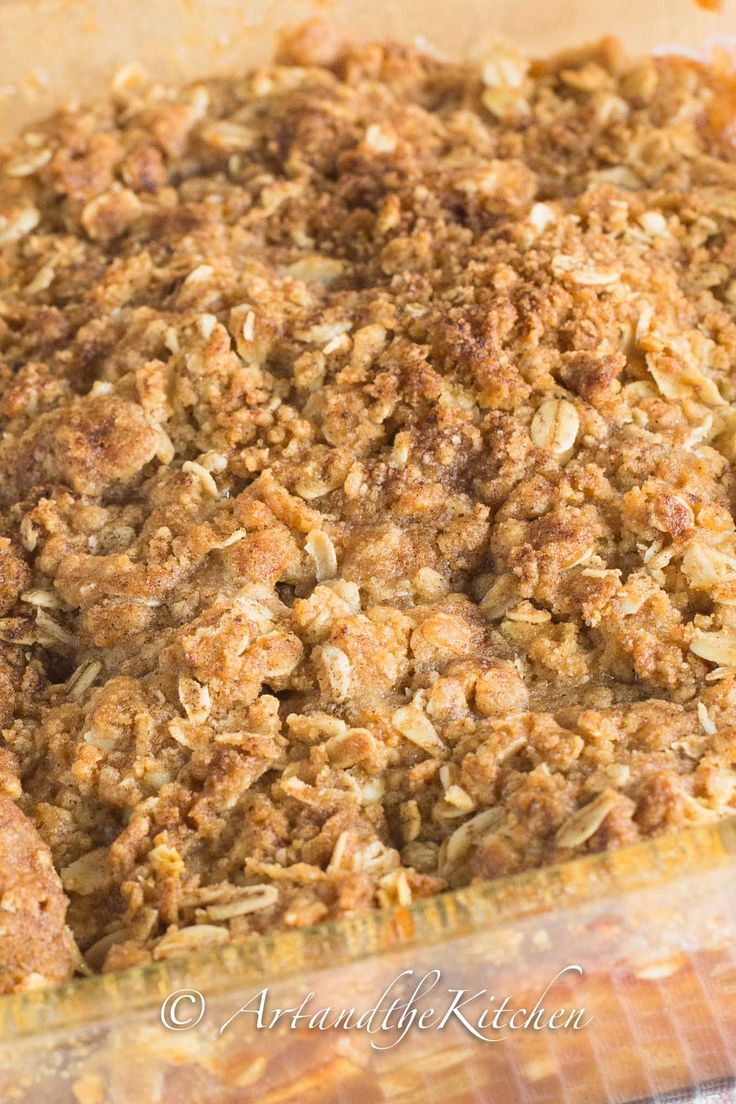 A simple and easy Apple Crisp recipe made even better with maple syrup. This old fashioned dessert has an amazing, buttery, crunchy, oatmeal topping and a scrumptious apple filling. My Best Ever recipe for Apple Crisp!