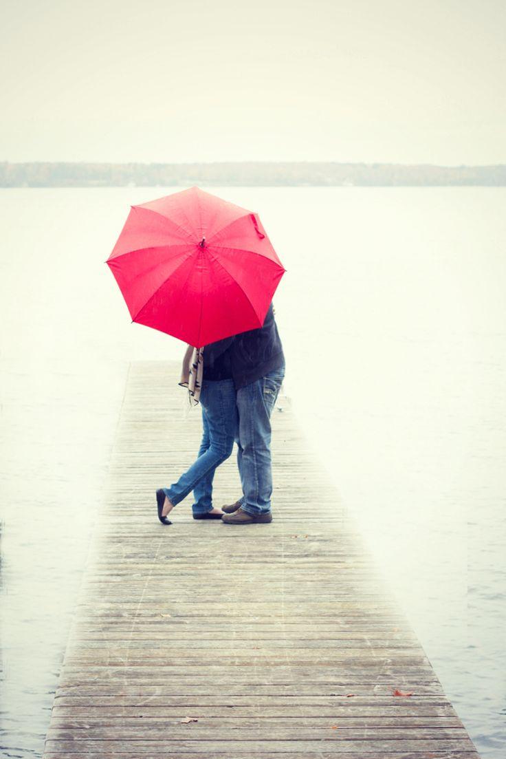 love on a rainy day.