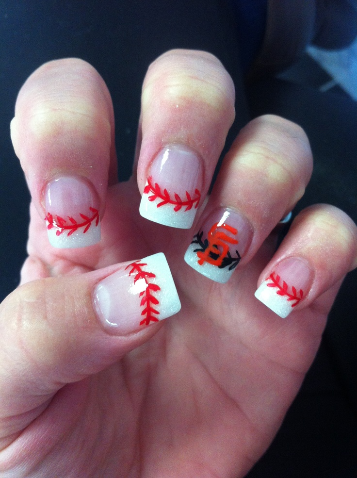 24 best SFG NAILS images on Pinterest | Sf giants nails, Baseball ...