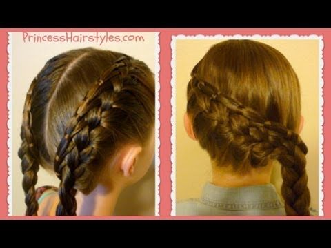Cinch Knot Feather Braid Hairstyle, Braided Hairstyles - YouTube