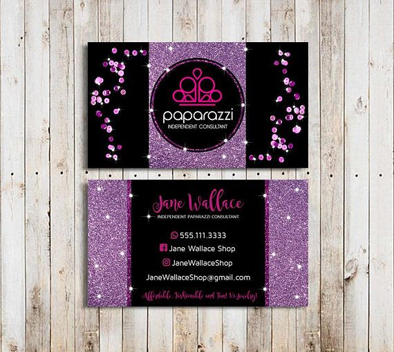 Paparazzi Business Cards Paparazzi Jewelry Paparazzi Accessories Purple Sequin Paparazzi Consult Glitter Business Cards Jewelry Business Card Paparazzi Jewelry