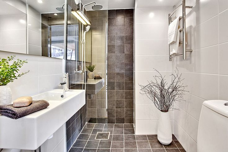 Smakfullt renoverat badrum. Bjurfors.se