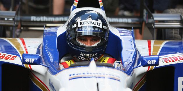 LOOK: Why Is Damon Hill Back Behind The F1 Wheel