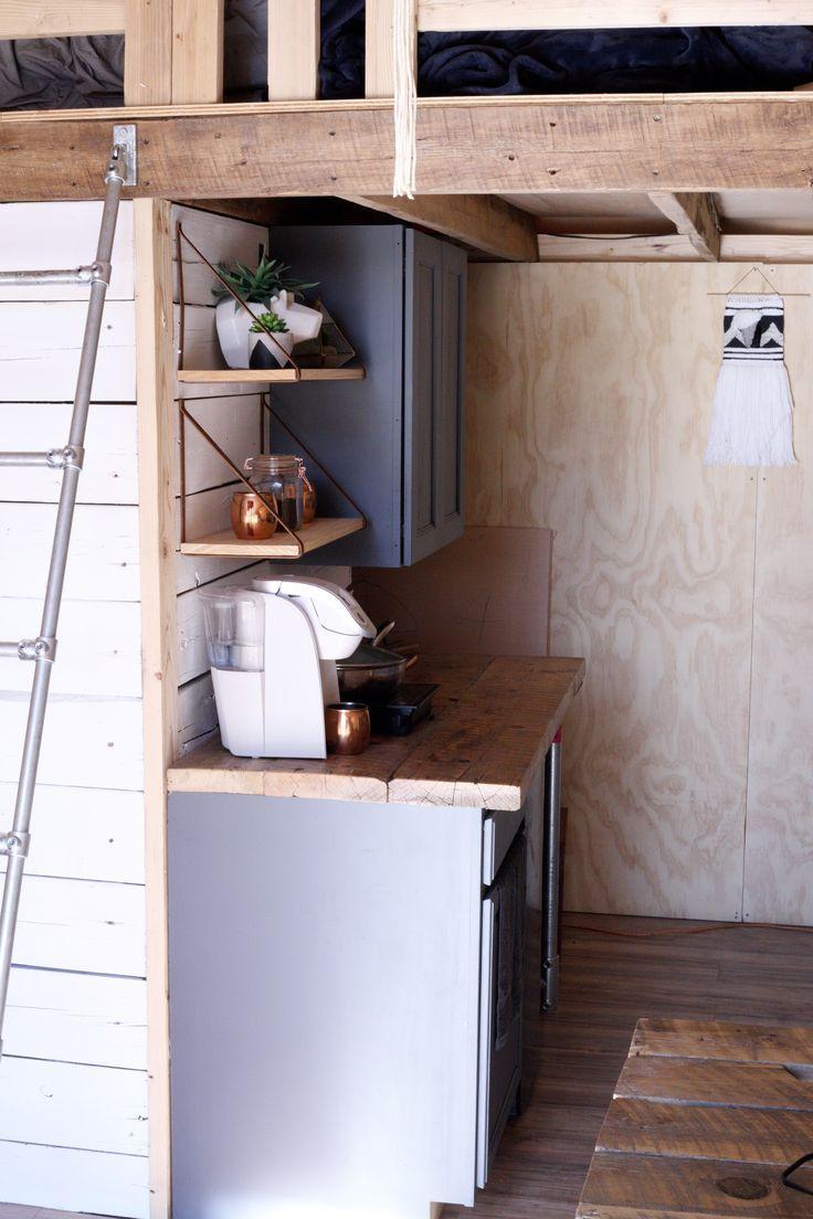 Tiny Kitchen Canvas Tent Wandzelt Vollzeit Zeltleben Tiny Home Tin Zelten Kleines Zuhause Wand