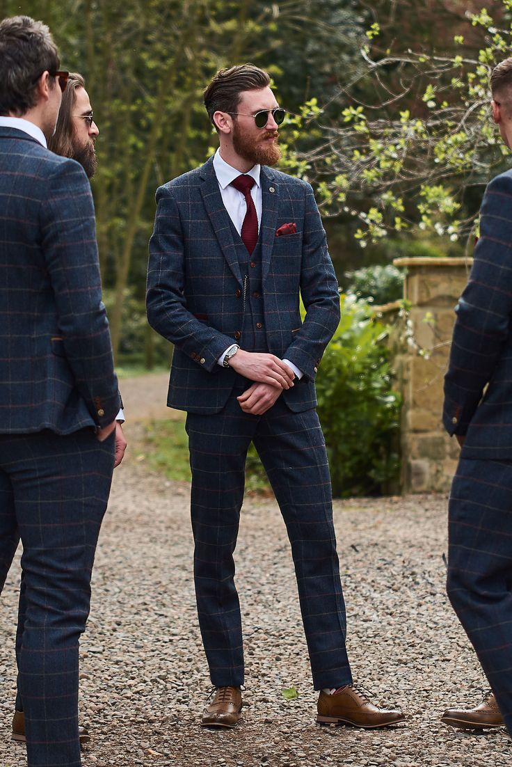 Marc Darcy Eton Suit - perfect for your winter wedding.