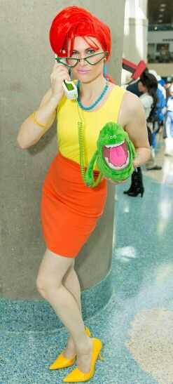 Janine from the Real Ghostbusters