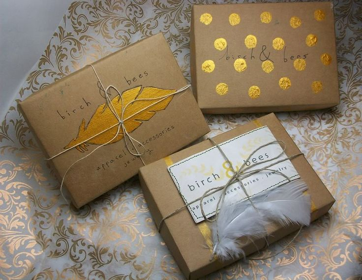 birch & bees: New Packaging For The Shop. Love the box with the feather... nice touch!