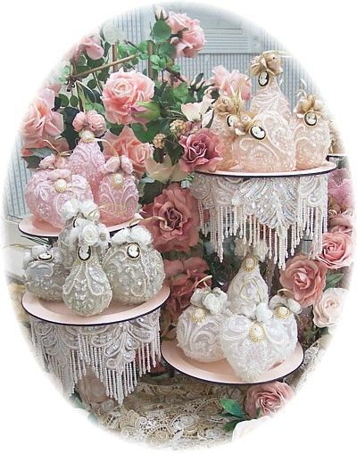 victorian christmas decorations | k6653 victorian ornaments these victorian ornaments are great for ...
