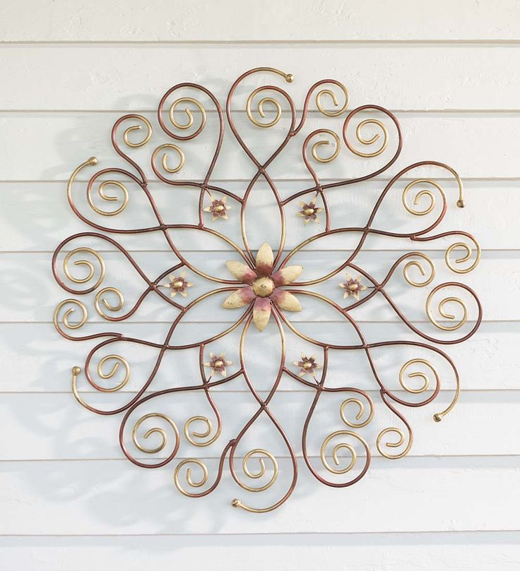 Metal Medallion Wall Art 121 best wall art images on pinterest | metal wall art, metal