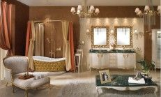 Country Style Bathroom Decoration Examples