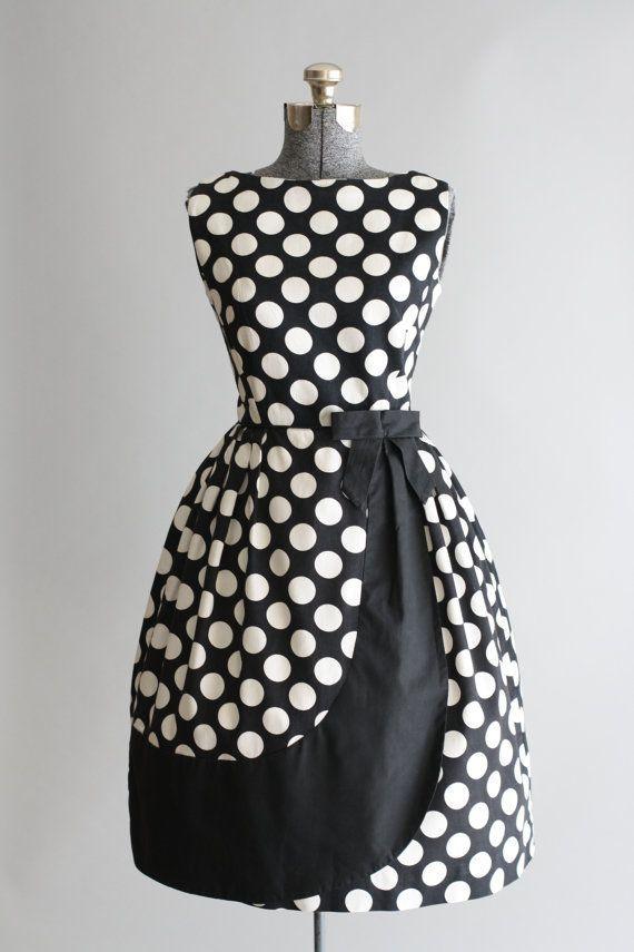 Vintage 1950s Dress / Blanes of London / by TuesdayRoseVintage