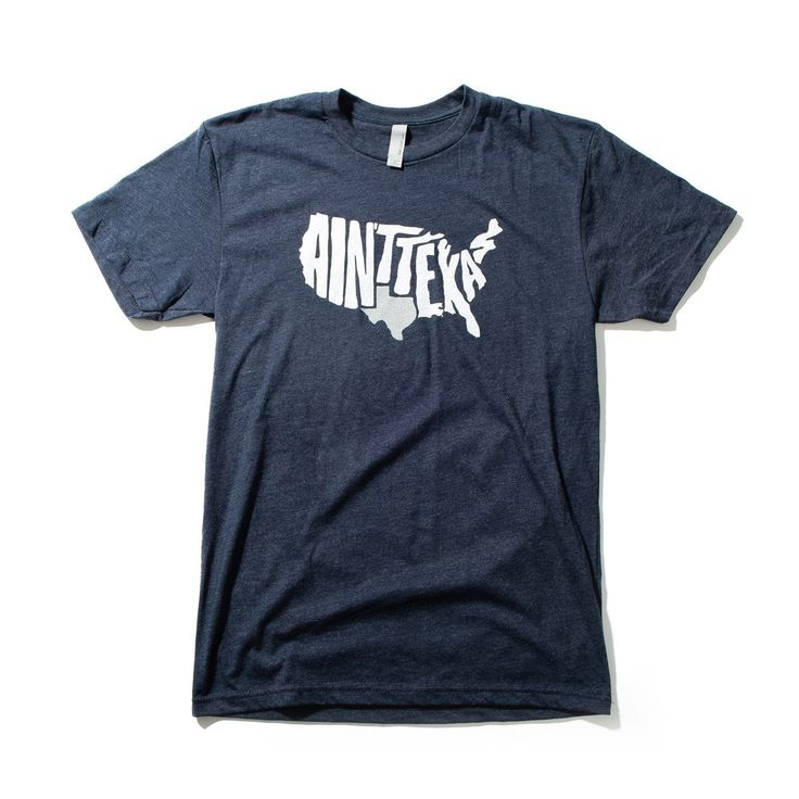 "Blue ""Ain't Texas"" Men's T-Shirt - Texas Humor Store"