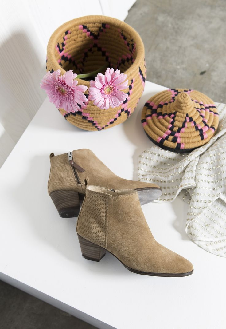 Based in Somerset, Seven Boot Lane have become well known for their quality, attention to detail and craftsmanship. These beige suede boots are slim fitting wit
