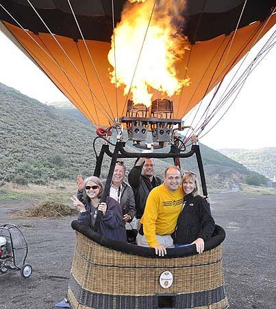 Hot Air Ballooning in Park City, Utah   My Itchy Travel Feet