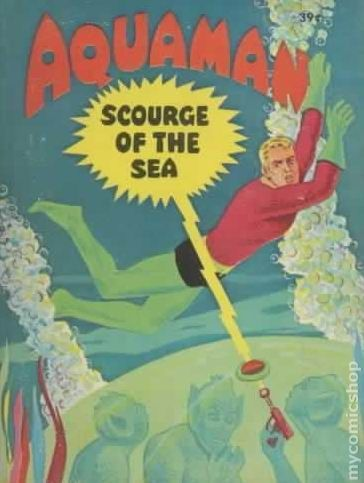 Aquaman Scourge of the Sea (BLB 1968) 17