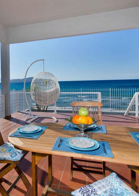 Villa Aelia next to Agioi Apostoloi beach in Chania, Crete       #crete #kreta #greece