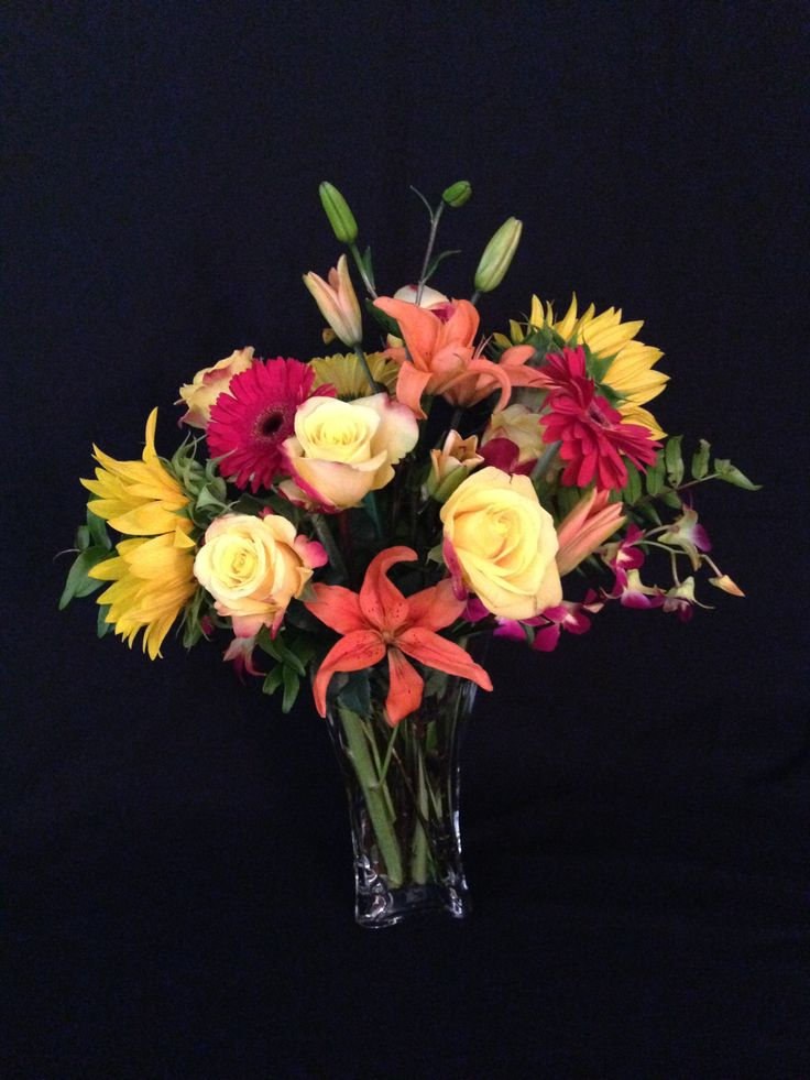 This beautiful spring arrangement will really show someone your thinking of them.  Send it to your someone special for only $89.00