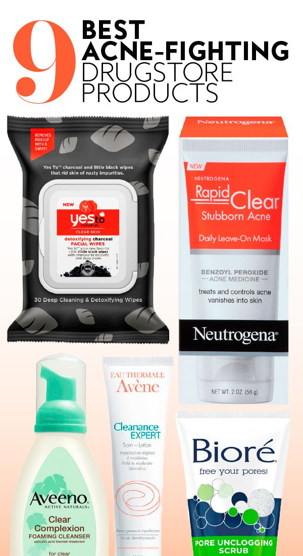 The Best Drugstore Acne Products According To Reddit Best Drugstore Acne Products Acne Wipes Acne Fighting