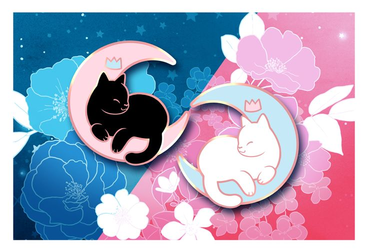 """<i>Friends together forever no matter where they are. </i>This set includes both color variants. 1"""" by 1"""" pins100% Hard Enamel Matte backer cardsCopper metal Pins will be shipped by the end of March"""