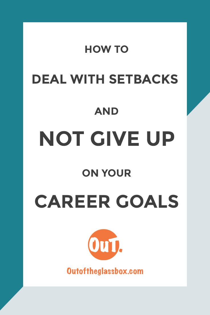 Don't Give Up | Career Goals | Setbacks | Job You Love | Career Change | Millennial Career | Escape Corporate Job | Career Bliss