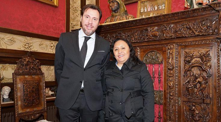 Valladolid, España a 17 de enero de 2018.– La Presidenta Municipal, Cristina Torres Gómez, firmará un Convenio de Intención de hermanamiento con la ciudad de Valladolid, España, el cual promoverá la cooperación de acciones, dentro de sus respectivos ámbitos de competencia, para el desarrollo de diversos proyectos en común. Al respecto, la Munícipe señaló que…