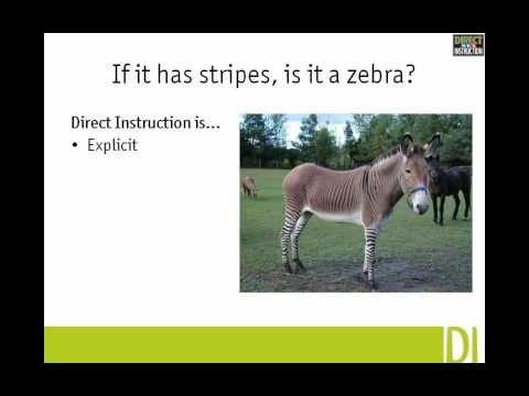 History Of The Direct Instruction Intervention Teaching Methodd