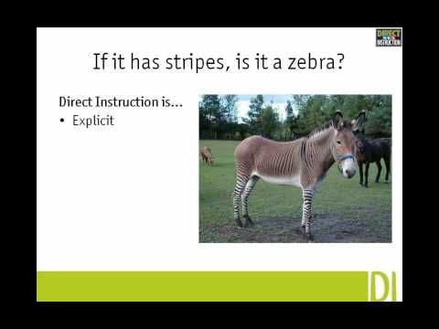 History of the Direct Instruction intervention teaching method