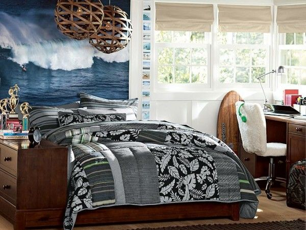 Teen Boys Room Ideas Surf Surfer Bedroom And Boys