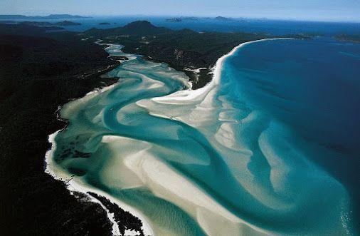 Уайтхэвен — это уникальный 7-километровый пляж вдоль береговой линии острова Витсандей в Австралии. Главной особенностью этого места, является белоснежный…  -  Здоровая Семья– Google+