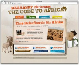 Projekt: Weihnachtsspecial - MÄÄÄÄHRY CHRISTMAS. Social Media Aktion auf Twitter und Facebook