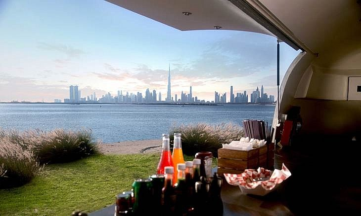 The Terrace, Dubai Creek Harbour // Friday and Saturday brunch