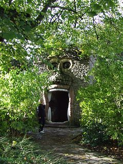 The Forbidden Corner is a folly-filled garden open to the public in the grounds of the Tupgill Park Estate near Leyburn in North Yorkshire, England History