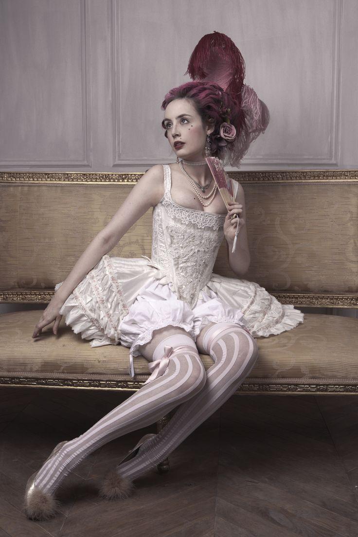 Corset and bloomer by Clara Maeda