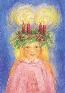 'Sint Lucia' door Marjan van Zeyl