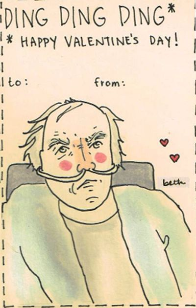 Happy V-day from Tio Salamanca   Breaking Bad valentines