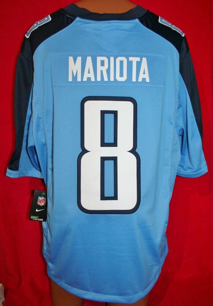 f2e54a70ed3 TENNESSEE TITANS Marcus Mariota #8 Nike NFL On Field FOOTBALL JERSEY 2XL  New #Nike #TennesseeTitans