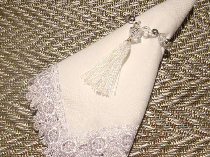 Porta Guardanapos para Casamentos e Eventos em Geral: PORTA-GUARDANAPOS FASCINATION EVENTOS