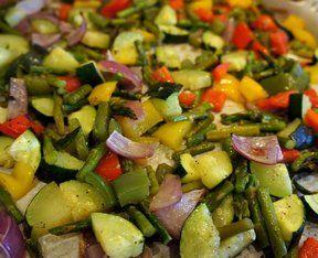 Savory Summer Vegetables Recipe