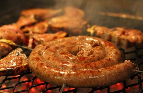 South Africans sausage