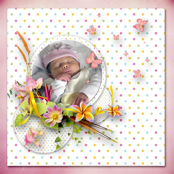 * Flowery* by Love Crea Design  http://scrapfromfrance.fr/shop/index.php… http://www.godigitalscrapbooking.com/shop/index.php