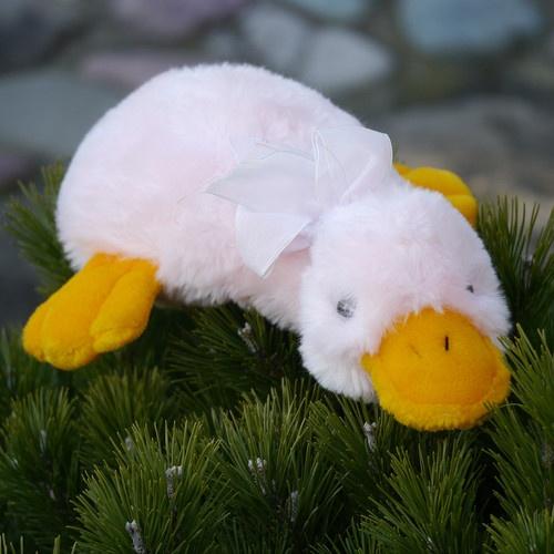Vintage Cute Soft Light Pink Duck Billed Platypus Stuffed